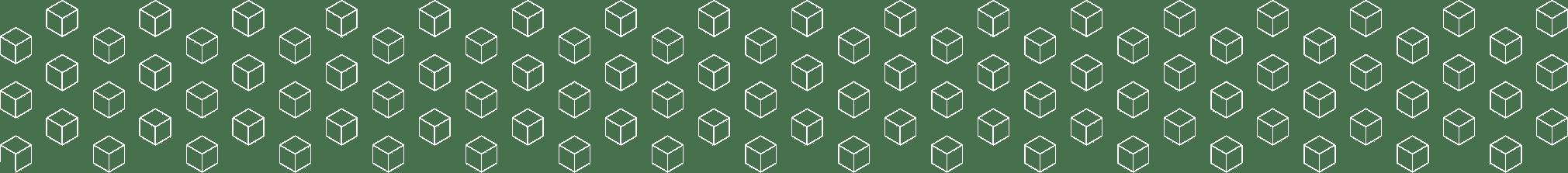 White cubes grid image